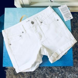"""Joes Jeans """"Stay Spotless"""" girls shorts sz: 12 NWT"""